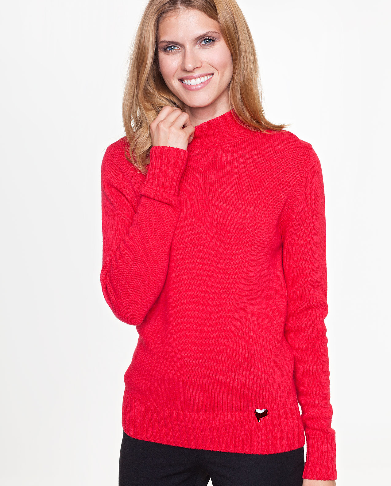 sweter red