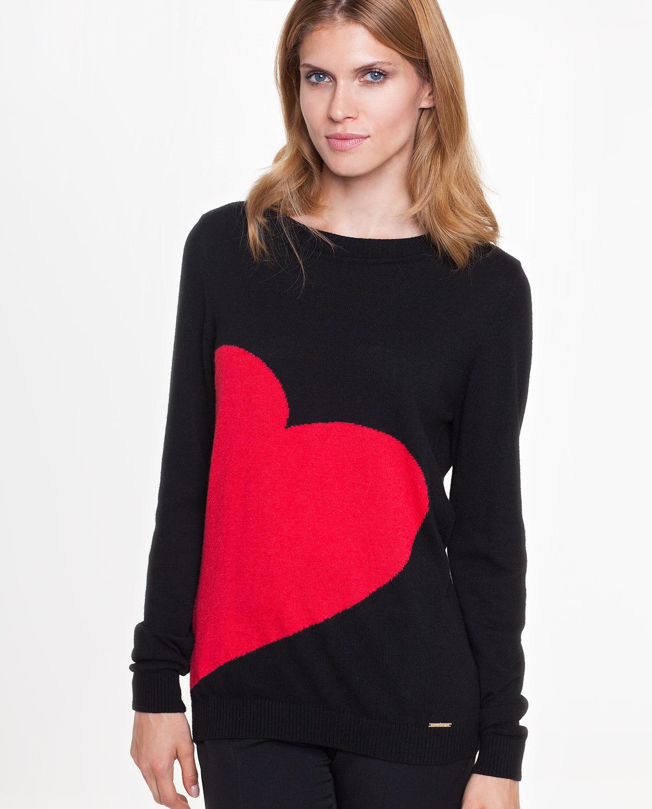 sweter heart