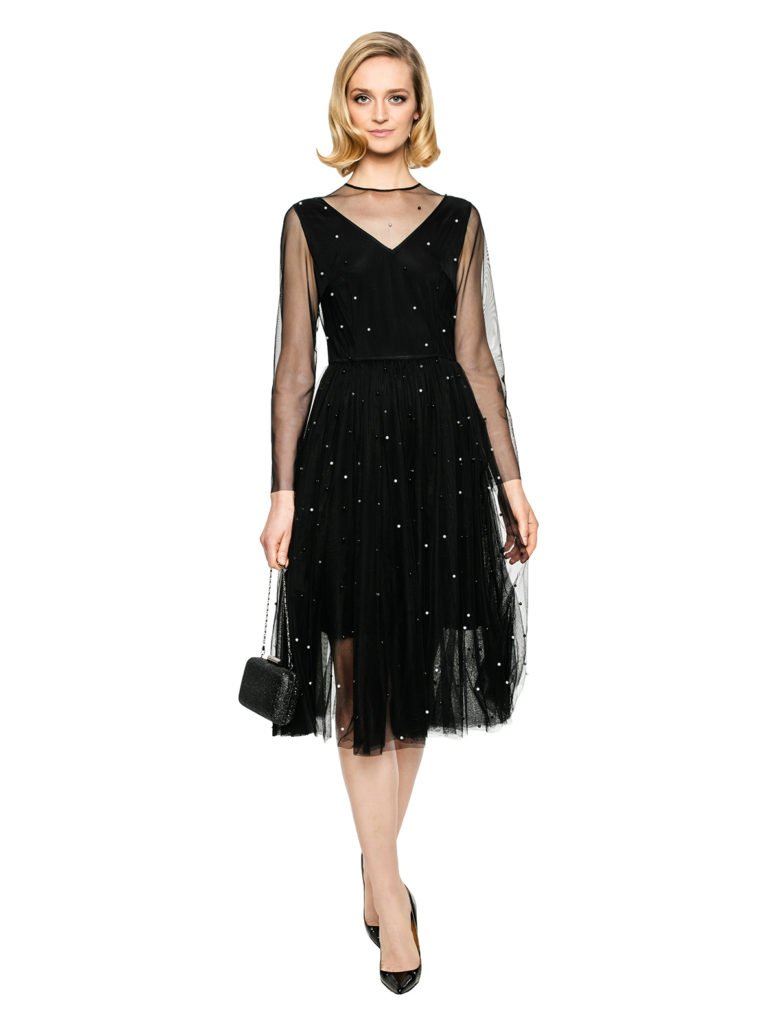 Sukienka CINDERELLA czarna