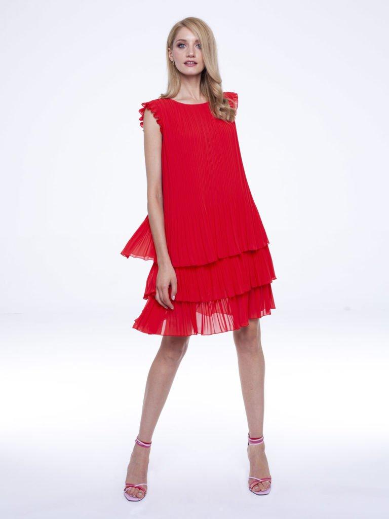 Sukienka Susan czerwona