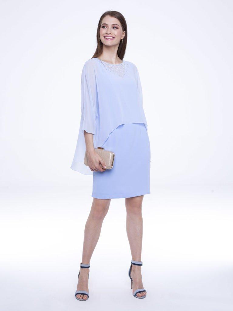 Sukienka Irina niebieska