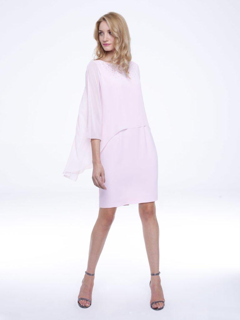 Sukienka Irina różowa