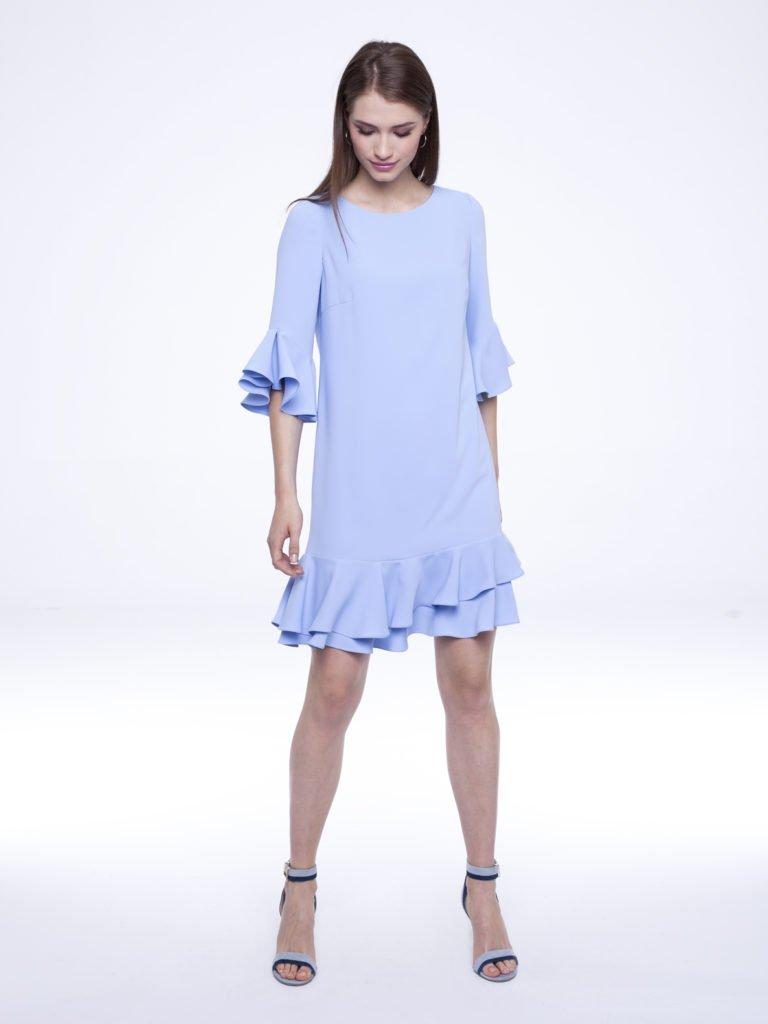 Sukienka Uma niebieska