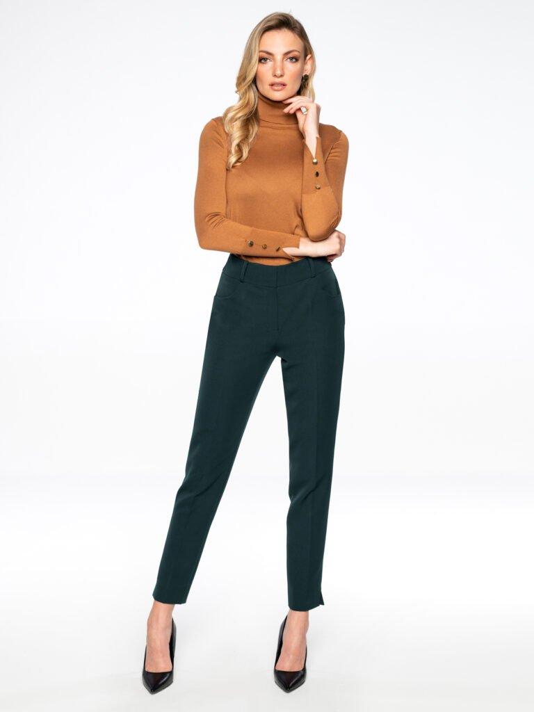 Spodnie Colet zielone