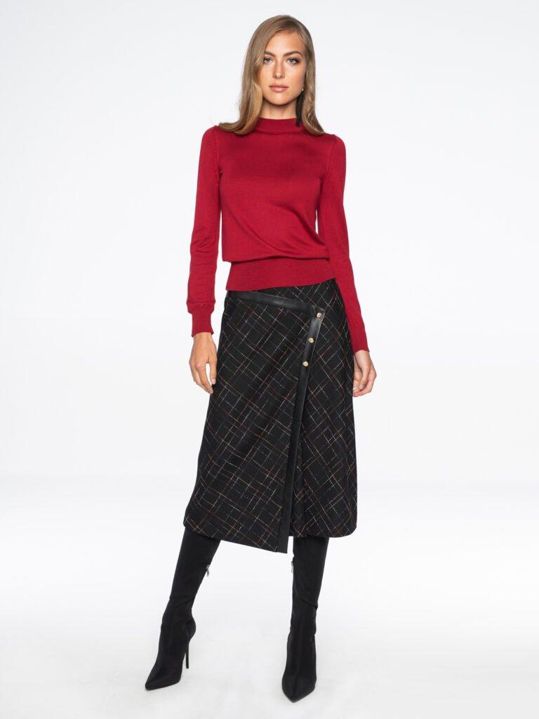 Sweter Donna czerwony