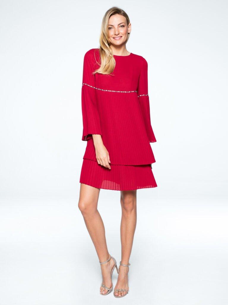 Sukienka Jadore czerwona