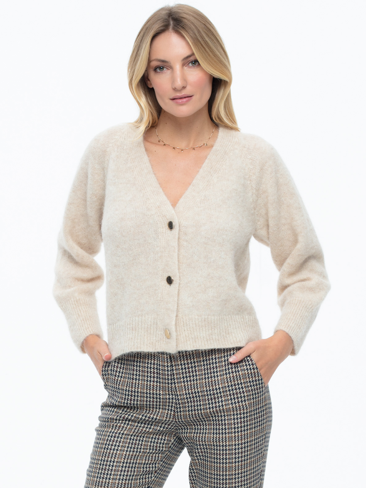 Sweter Berry beżowy