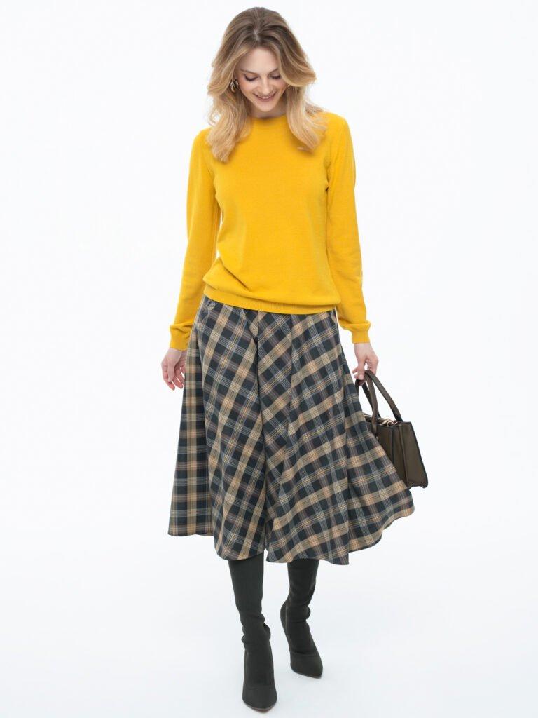 Sweter Garret żółty