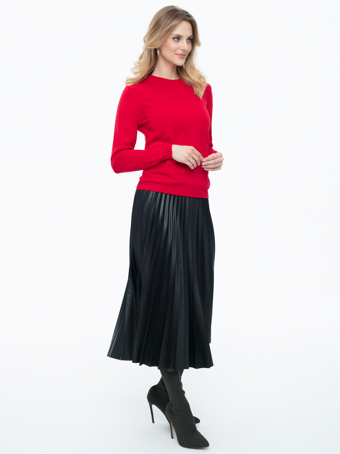 Sweter Garret czerwony