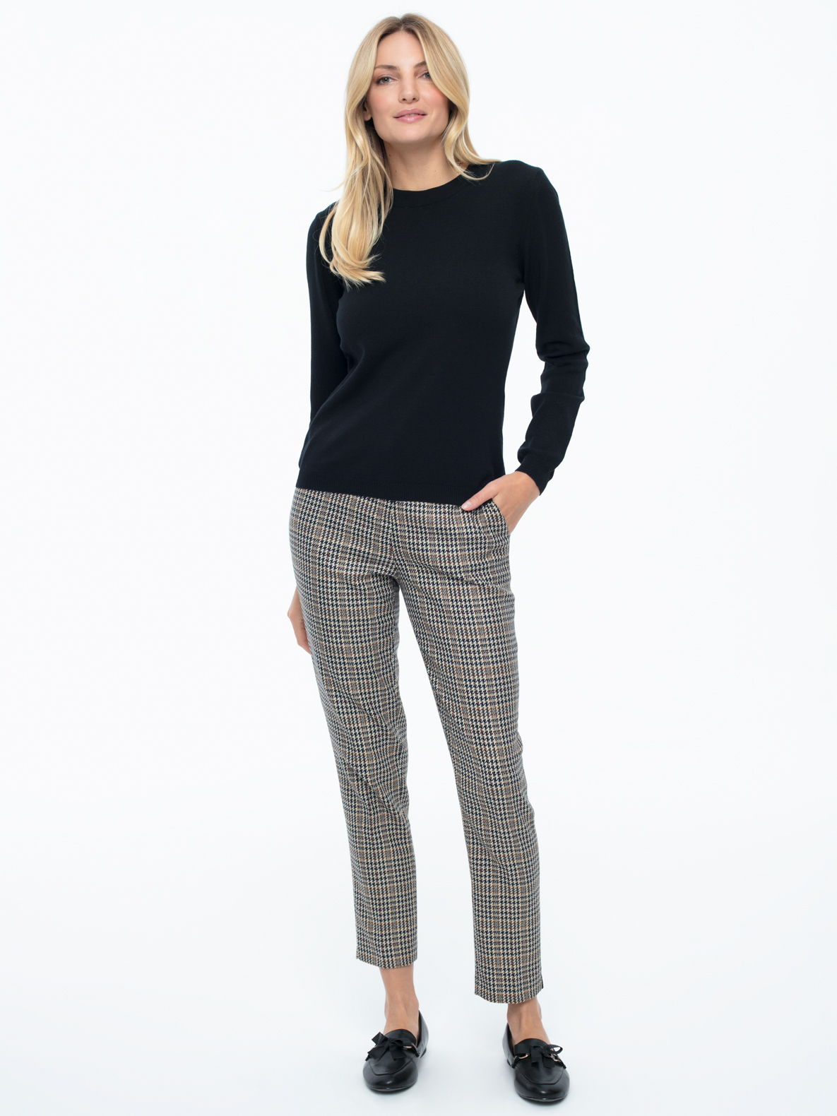 Sweter Garret czarny