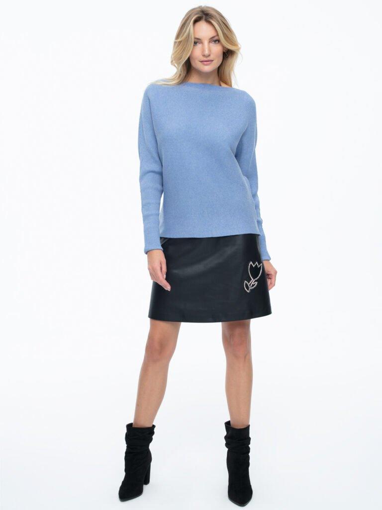 Sweter Klara błękitny