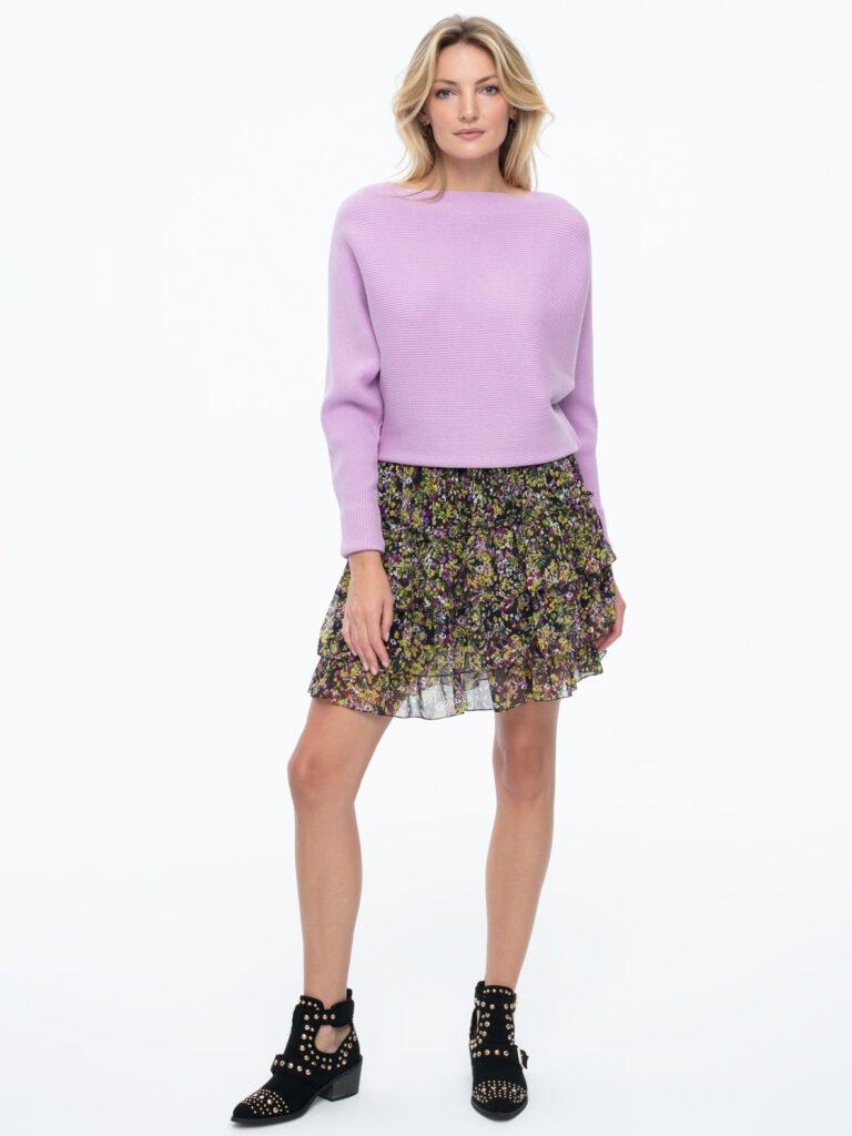 Sweter Klara fioletowy