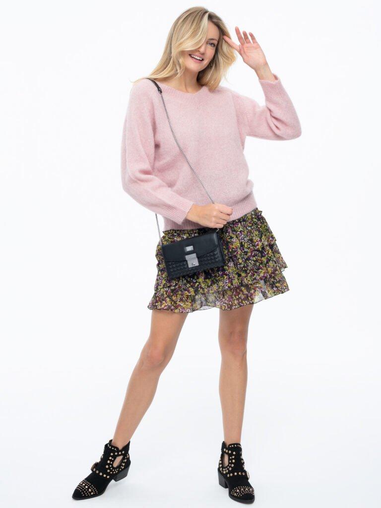 Sweter Oscar różowy