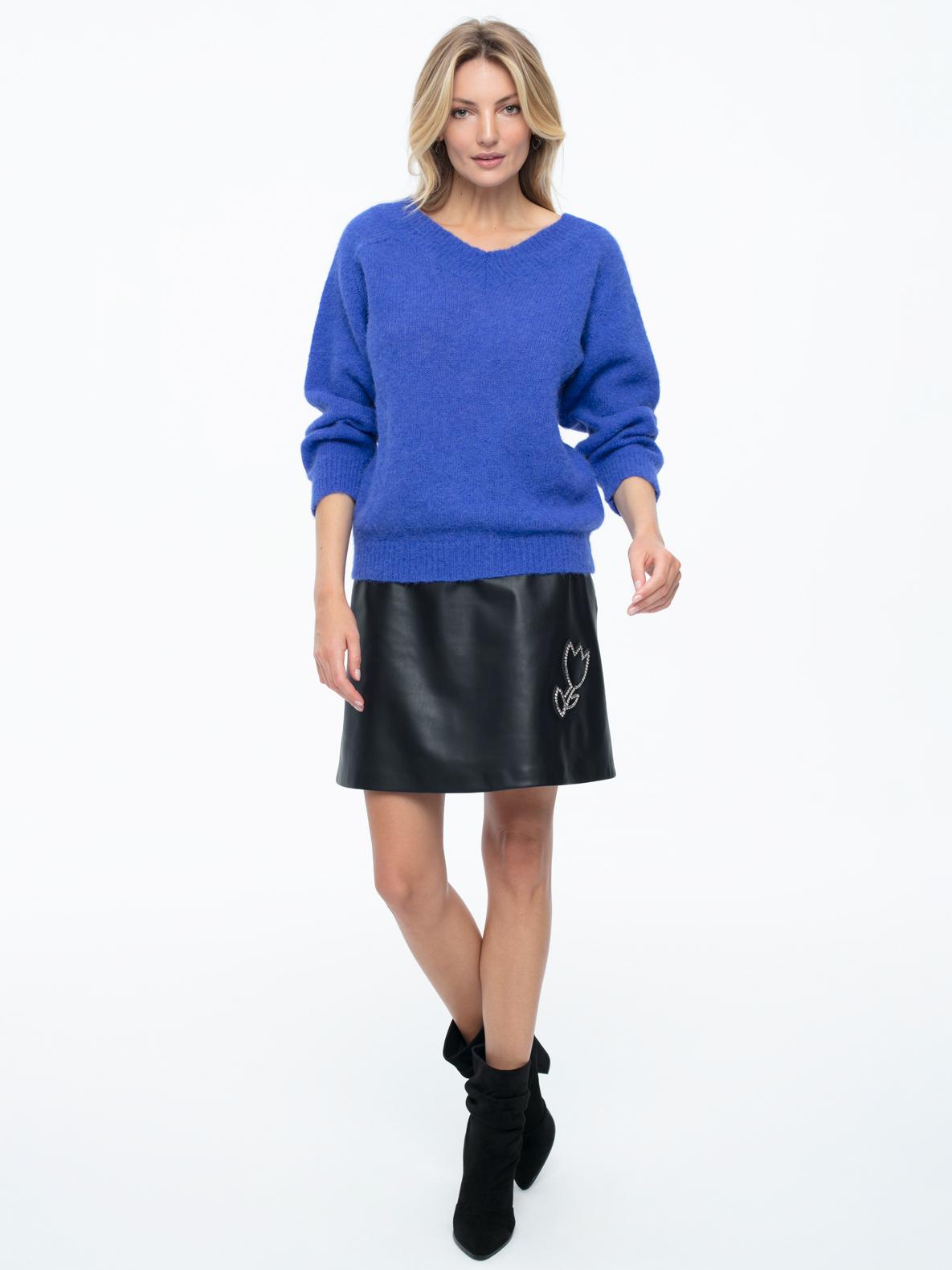 Sweter Oscar niebieski