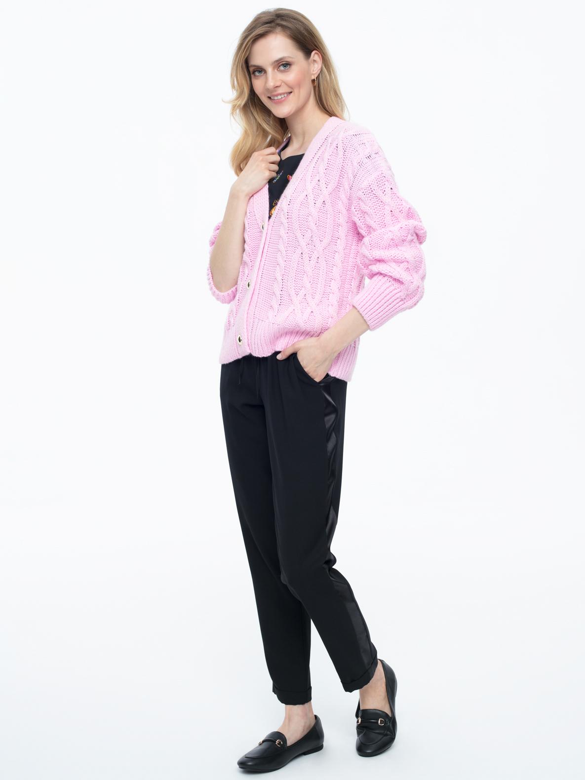 Sweter Madena różowy